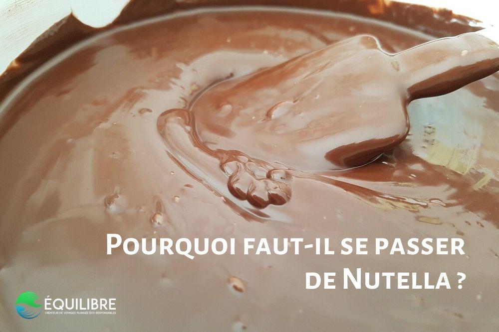 Pourquoi faut-il se passer de Nutella ?